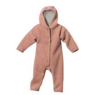 Disana Walkoverall, Baby Overall Wollwalk, rose