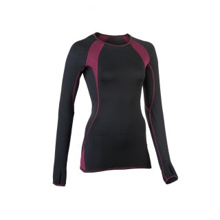 Engel Sports Shirt Damen, Wolle/Seide