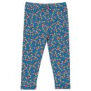 Kite Kids Leggins Blumen, blau