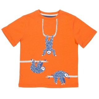 Kite Kids T-Shirt Faultier, orange