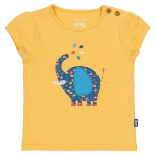 Kite Kids T-Shirt Elefant, gelb