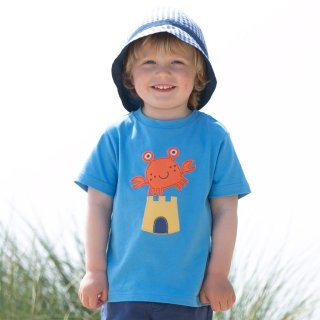 Kite Kids T-Shirt Krabbe, blau