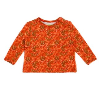 Lily-Balou Shirt Francis Füchse orange