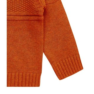 Sense Organics Strickpullover Victor orange
